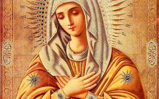 Икона божией матери «умиление» серафимо-дивеевская, россия, город москва