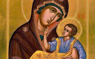 Икона божией матери словенская, россия, костромская область, антроповский район, село словинка