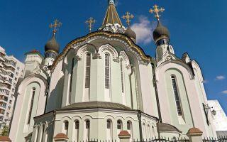 Храм воскресения христова в сокольниках, россия, город москва