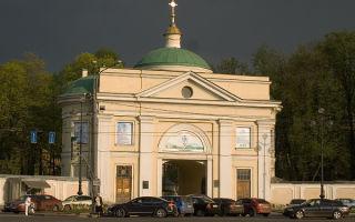 Церковь иконы божией матери всех скорбящих радость в александро-невской лавре