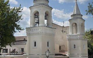 Иоанно-предтеченский монастырь (москва), россия, город москва
