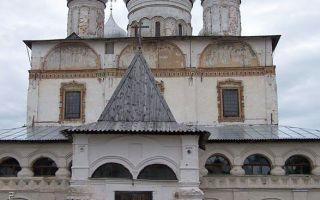 Икона божией матери «знамение», россия, город великий новгород, софийский собор