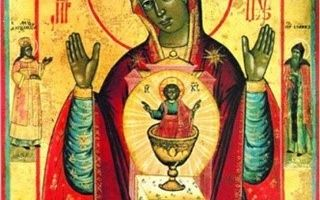 Икона божией матери никейская
