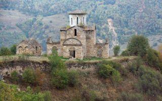 Сентинский храм, россия, карачаево-черкесия, селение нижняя теберда