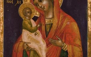 Икона божией матери александрийская