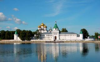 Ипатьевский монастырь, россия, город кострома