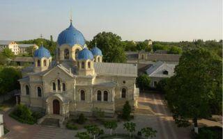 Ново-нямецкий (кицканский) монастырь, молдавия, приднестровье, слободзейский район, село кицканы