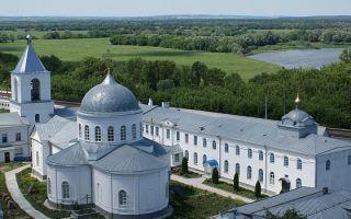 Дивногорский успенский монастырь, россия, воронежская область, лискинский район, село дивногорье