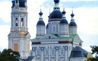 Троице-сканов женский монастырь, россия, пензенская область, село сканово