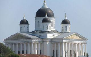 Собор воскресения христова в арзамасе, россия, нижегородская область, город арзамас