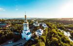 Зилантов успенский монастырь, россия, город казань