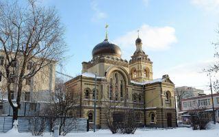 Церковь софии, премудрости божией и татианы при софийской детской больнице, россия, город москва