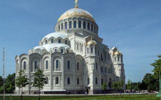 Никольский морской собор в кронштадте, россия, ленинградская область, кронштадтский район, город кронштадт