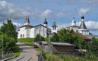 Ферапонтов монастырь, россия, вологодская область, кирилловский район, село ферапонтово