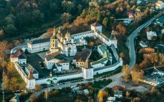 Пафнутьево-боровский монастырь, россия, калужская область, город боровск