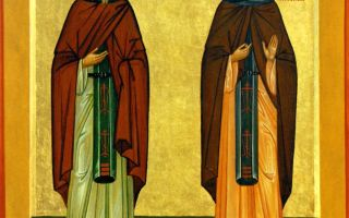 Преподобным кириллу и марии, родителям святого сергия радонежского — для путешествующих