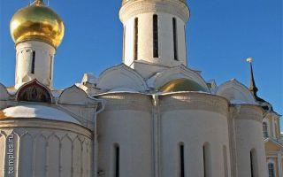 Троицкий собор троице-сергиевой лавры, россия, московская область, город сергиев посад
