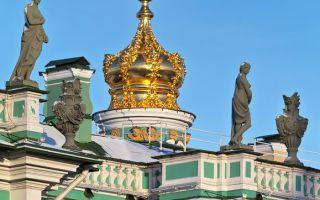 Собор спаса нерукотворного образа в эрмитаже, россия, город санкт-петербург