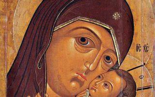 Икона божией матери корсунская, россия, город санкт-петербург, русский музей