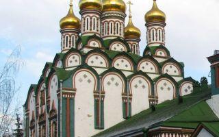 Храм святителя николая в хамовниках, россия, город москва