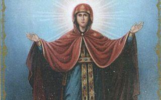 Икона божией матери елецкая