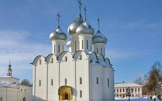 Софийский собор в вологде, россия, город вологда
