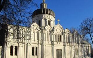 Храм алексия человека божия в красном селе, россия, город москва