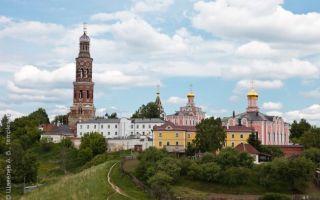 Иоанно-богословский пощуповский монастырь, россия, рязанская область, рыбновский район, село пощупово