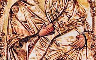 Икона божией матери сурдегская, литва, город каунас, благовещенский собор