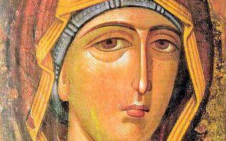 Икона божией матери филермская, черногория, город цетине, исторический музей