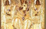 Икона божией матери кипрская (стромынская), россия, московская область, ногинский район, село стромынь