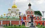 Зачатьевский ставропигиальный женский монастырь, россия, город москва