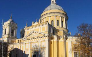 Троицкий собор александро-невской лавры, россия, город санкт-петербург