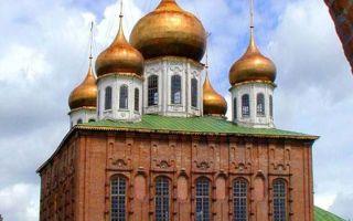 Собор успения пресвятой богородицы в туле, россия, город тула, кремль