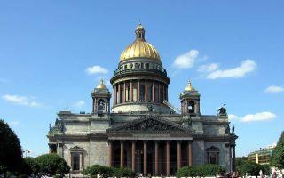 Исаакиевский собор, россия, город санкт-петербург