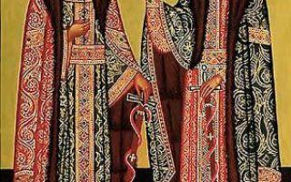 Благоверный князь михаил черниговский и боярин его феодор