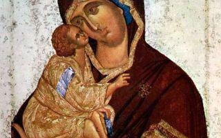 Икона божией матери донская, россия, город москва, государственная третьяковская галерея