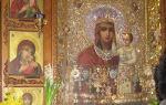 Икона божией матери «призри на смирение», украина, город киев, свято-введенский монастырь