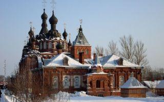 Шамординский монастырь, россия, калужская область, козельский район, п/о каменка