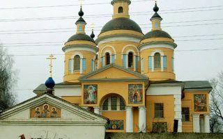 Казанский собор вышенского монастыря, россия, рязанская область, шацкий район, поселок выша