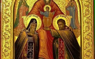 Икона божией матери печерская