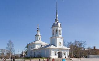 Церковь александра невского в вологде, россия, город вологда