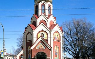 Храм иконы божией матери «неопалимая купина», россия, город санкт-петербург