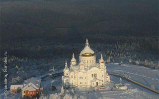 Белогорский николаевский монастырь, россия, пермский край, кунгурский район, деревня белая гора