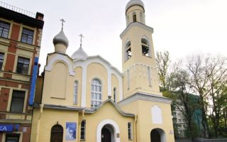 Храм святой благоверной анны кашинской, россия, город санкт-петербург