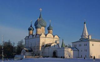 Богородице-рождественский собор, россия, владимирская область, город суздаль, улица кремлевская, суздальский кремль