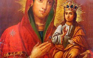 Икона божией матери тупичевская, республика беларусь, город мстиславль, александро-невский кафедральный собор