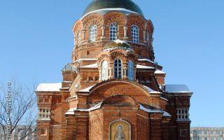 Церковь сергия радонежского в туле, россия, город тула