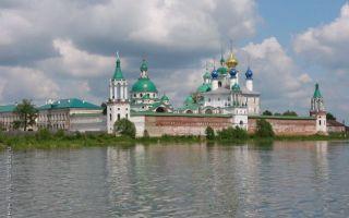 Спасо-яковлевский монастырь, россия, ярославская область, город ростов великий