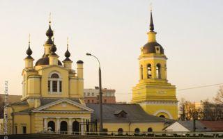 Храм покрова пресвятой богородицы в красном селе, россия, город москва